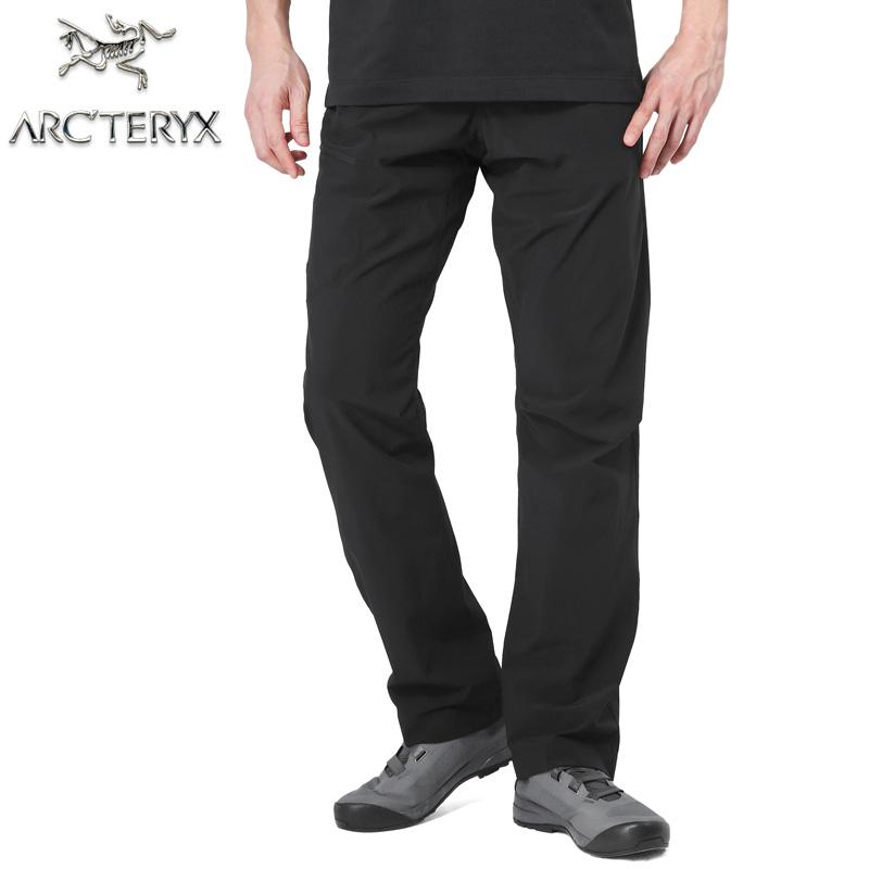 【正規取扱店】ARC'TERYX アークテリクス Lefroy Pant レフロイ パンツ BLACK レギュラーレングス 17519 / 【Sx】【予】ミリタリー 軍物
