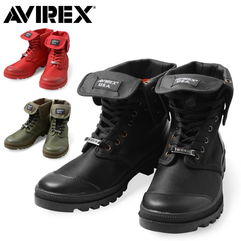 AVIREX アビレックス AV3402 SCORPION HI NYLON 2WAYブーツ【クーポン対象外】《WIP》ミリタリー 軍物 メンズ 男性 ギフト プレゼント