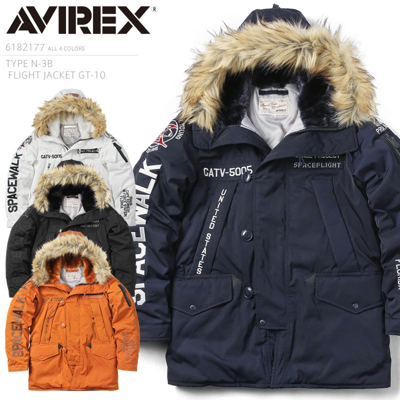 AVIREX アビレックス 6182177 TYPE N-3B フライトジャケット GT-10 /【クーポン対象外】ミリタリー 軍物 メンズ 男性 ギフト プレゼント