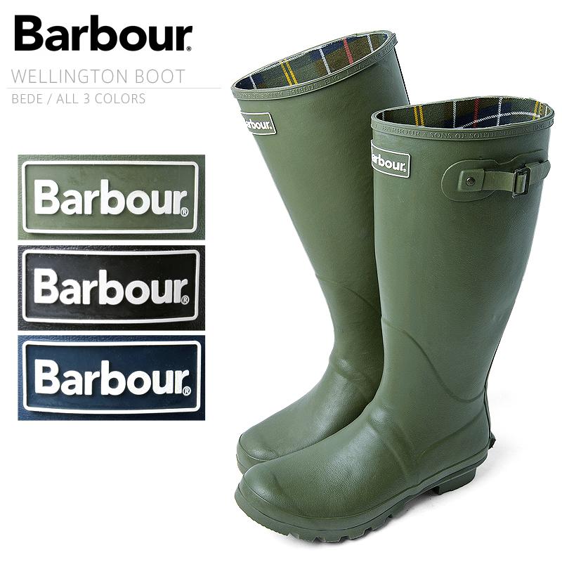 【割引クーポン対象品】Barbour バブアー MRF0010 BEDE(ビード) WELLINGTON BOOT (レインブーツ)BARBOUR バーブァー バヴアー 英国王室御用達 英国 イギリス タータンチェック 長靴 雨具 ガーデニング アウトドア  【Sx】