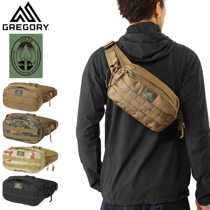 GREGORY グレゴリー SPEAR スピア EVAC WAIST PACK エバック ウェスト パック【Sx】/ ミルスペック ミリタリーバッグ ウエストバッグ ウエストポーチ 斜めがけ 斜め掛け メンズ レディース 鞄