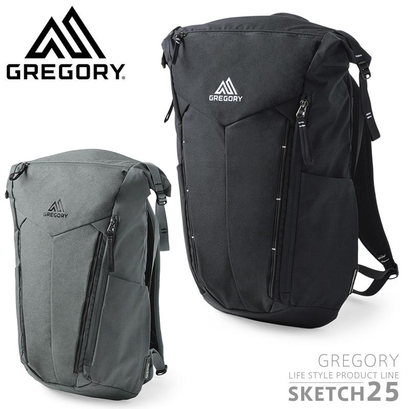 GREGORY グレゴリー SKETCH 25 スケッチ25 バッグパック【Sx】/ gregory Sketch25 BACKPACK RUCKSACK バックパッグ リュックサック メンズ レディース 鞄