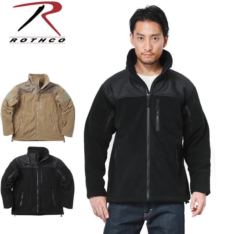 ROTHCO ロスコ SPEC OPS タクティカル フリースジャケット/ミリタリー 軍物 メンズ  【キャッシュレス5%還元対象品】