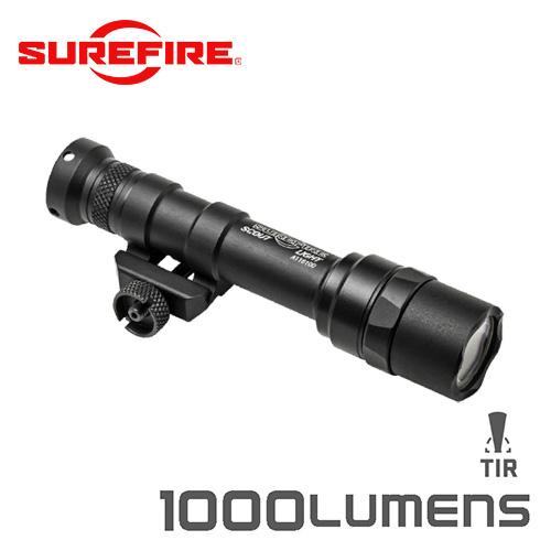 SUREFIRE シュアファイア M600 ULTRA LEDスカウトライト / ウェポンライト 1000ルーメン(M600U-Z68-BK)【クーポン対象外】【キャッシュレス5%還元対象品】