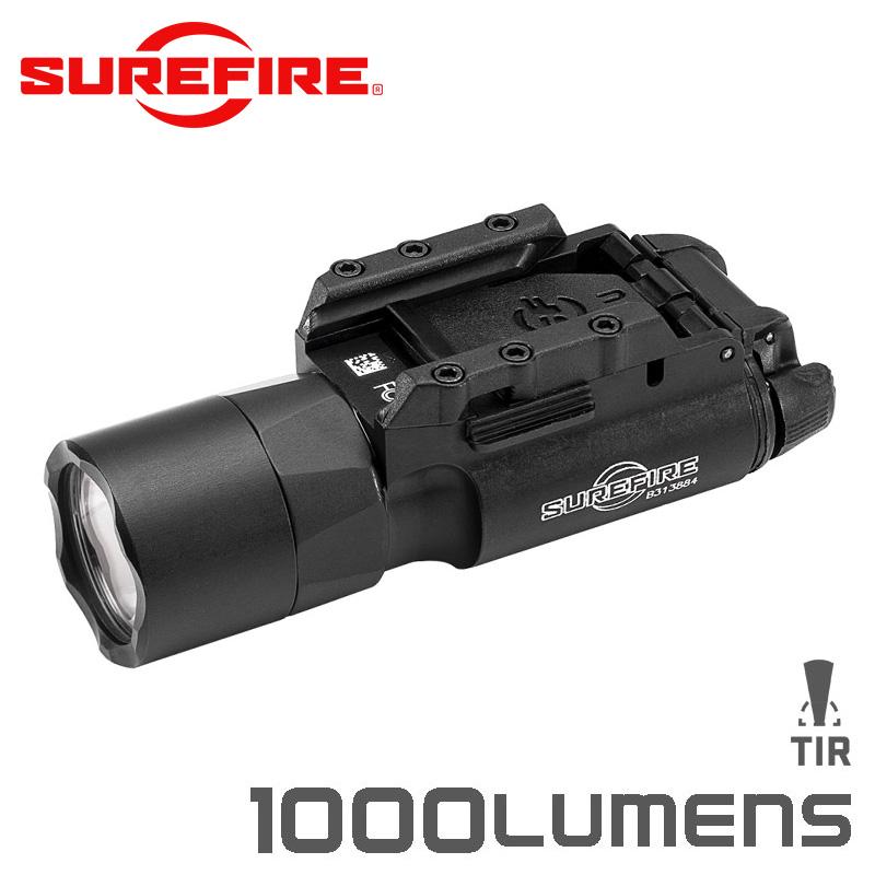 SUREFIRE シュアファイア X300U-A LEDウェポンライト / フラッシュライト 1000ルーメン BLACK【クーポン対象外】【キャッシュレス5%還元対象品】