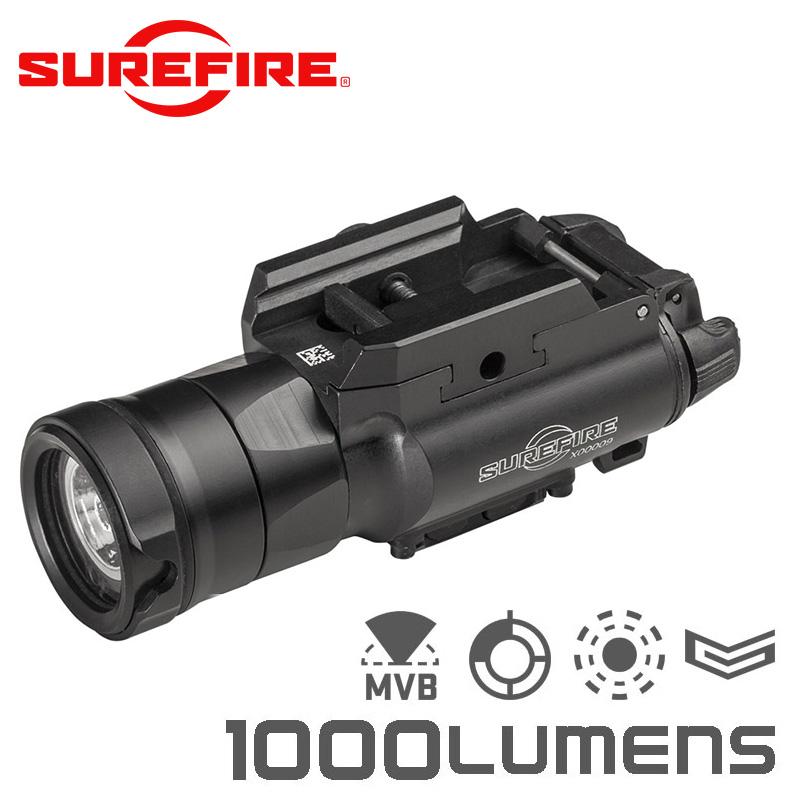 SUREFIRE シュアファイア XH35 LEDウェポンライト / フラッシュライト 1000ルーメン for MASTERFIRE Rapid Deploy Holster【クーポン対象外】【キャッシュレス5%還元対象品】
