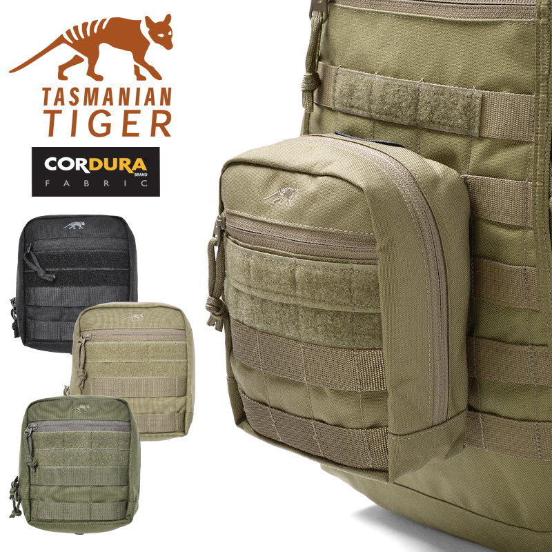 TASMANIAN TIGER タスマニアンタイガー TAC POUCH 6 タックポーチ6ミリタリー 軍物 メンズ  【Sx】【キャッシュレス5%還元対象品】