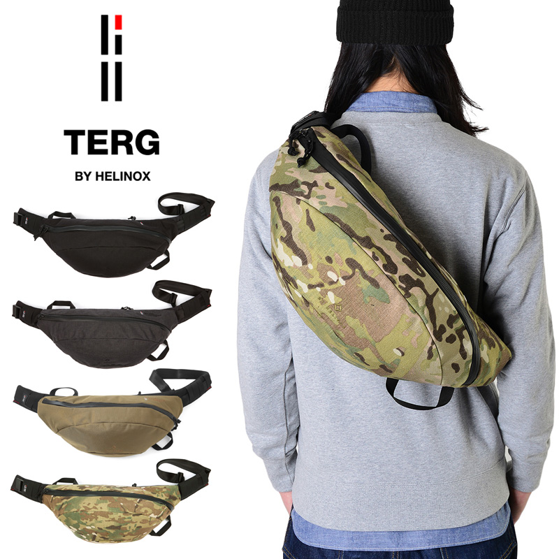 TERG BY HELINOX ターグ バイ ヘリノックス LARGE WAIST(ウエストパック) 3色《WIP》ミリタリー 軍物 メンズ 男性 ギフト プレゼント