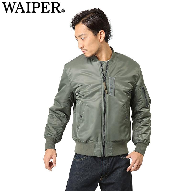 WAIPER 模型馬 1 飛行夾克 MIL-J-8279 模型鼠尾草 15WP01 [WIP]