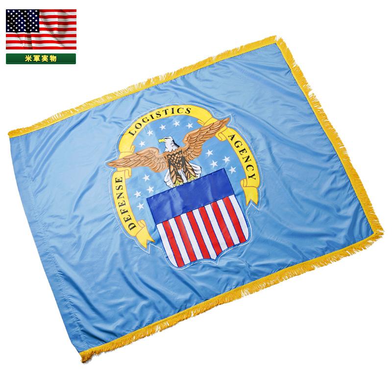 【20%OFFクーポン対象】実物 新品 米軍 DEFENSE LOGISTICS AGENCY フラッグ(旗)《WIP》