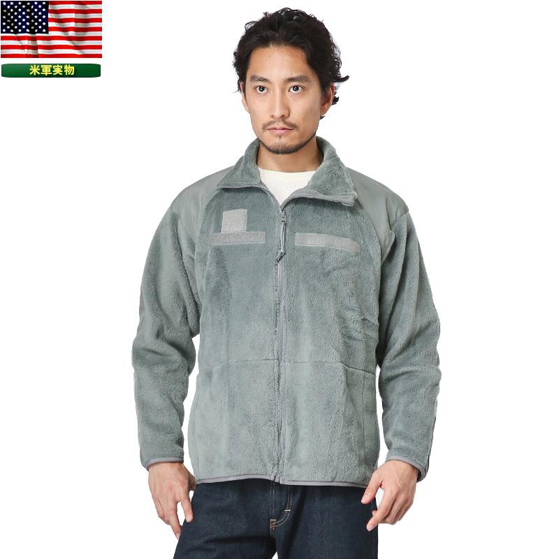 実物 新品 米軍ECWCS Gen3 POLARTEC フリースジャケット FOLIAGE / 【クーポン対象外】ミリタリー アメリカ軍 ミリタリー軍物 実物放出品