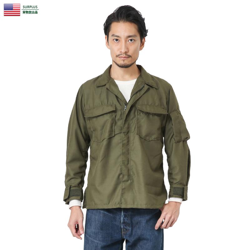 実物 新品 米軍NOMEXヘリクルーシャツ横ポケット 【クーポン対象外】アメリカ軍 本物 ミリタリー 軍物 メンズ