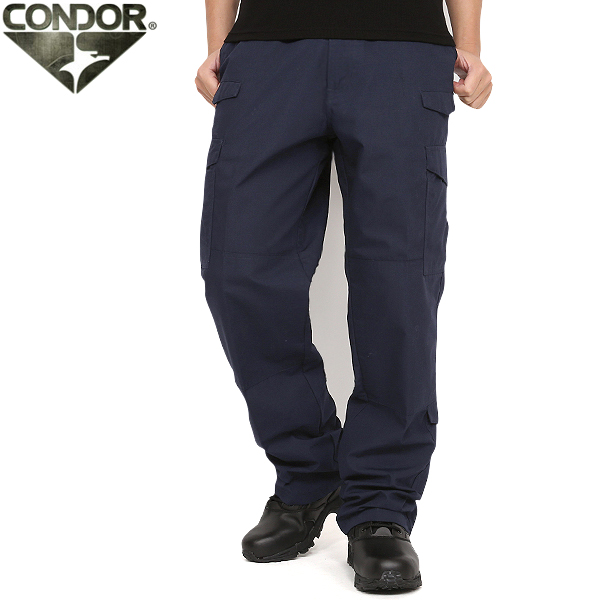 CONDOR/コンドル 608 タクティカルパンツ NAVY ミリタリー 服 春 【クーポン対象外】