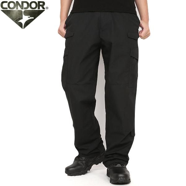 CONDOR/コンドル 608 タクティカルパンツ BLACK《WIP》 ミリタリー 服 男性 春 ギフト プレゼント【クーポン対象外】[Px]