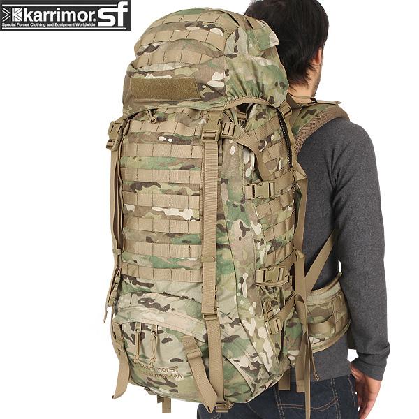 ミリタリー バッグ / karrimor SF カリマー スペシャルフォース Predator 80-130 バッグパック Multicam ミリタリー  【Sx】【キャッシュレス5%還元対象品】