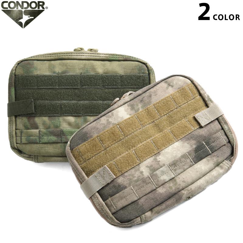 メンズ ミリタリー バッグ / CONDOR/コンドル MA54 T&T ポーチ A-TACS(エイタックス,エータックス) 2色 ミリタリー  【クーポン対象外】【キャッシュレス5%還元対象品】