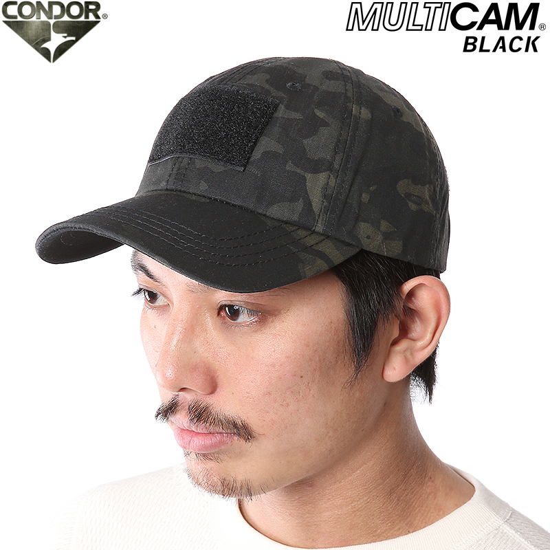 606b75d2f CONDOR Condor tactical team Cap MultiCam Black MultiCam black military Cap  survival game sabage [WIP]