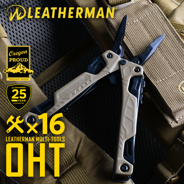 【20%OFFセール開催中】LEATHERMAN レザーマン マルチツール OHT ONE HAND TOOL COYOTE TAN コヨーテ タン《WIP》 ミリタリー 男性 ギフト プレゼント
