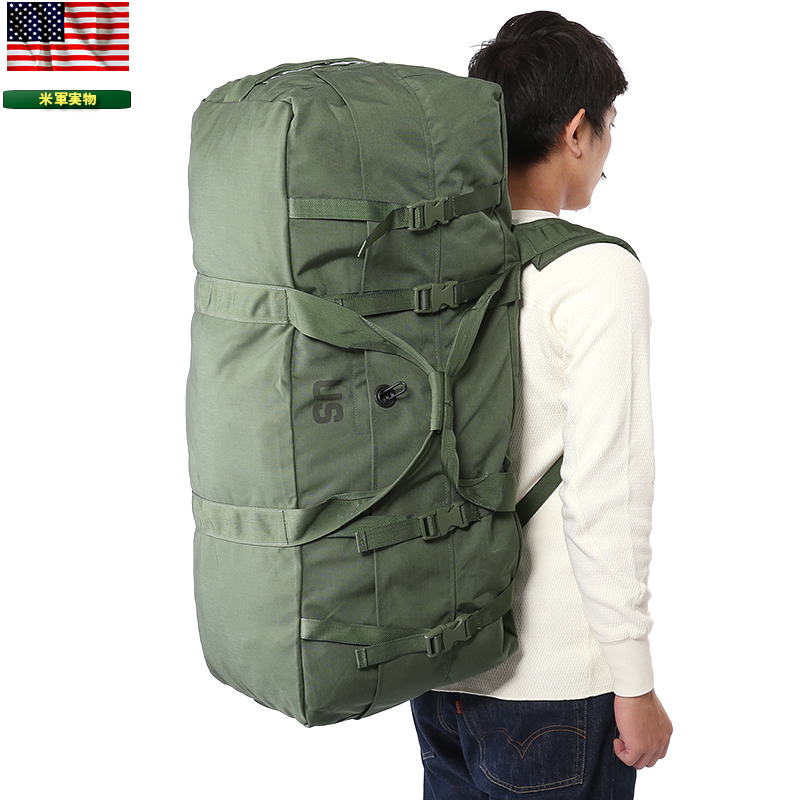 Men S Military Bag Real Thing New Article U Forces Transport Duffel Od 1