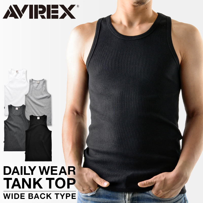 AVIREX avirex 罐頂寬背男裝 6143507 上衣平原每天穿 avirexl avirex avirex AVIREX 罐頂 avirexl
