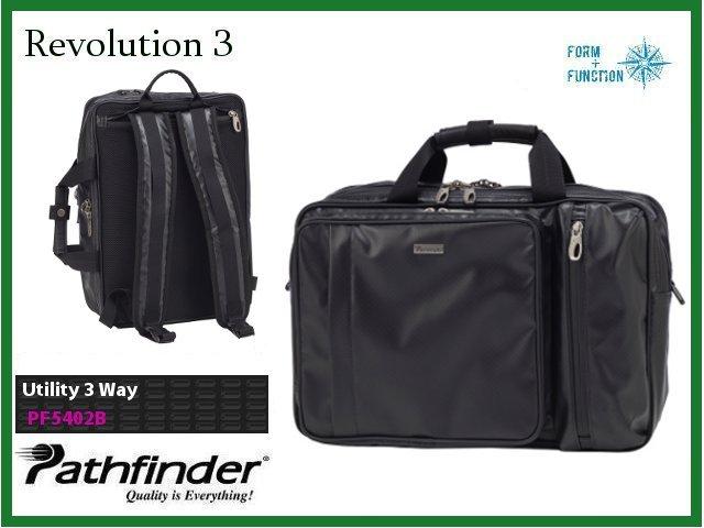 【正規品】Pathfinderパスファインダー Revolution3 3WAYビジネスバッグ ブリーフケース・バックパック PF5402B【B4】【送料無料】【代引手数料無料】【あす楽】】【あす楽_土曜営業】【あす楽_日曜営業】