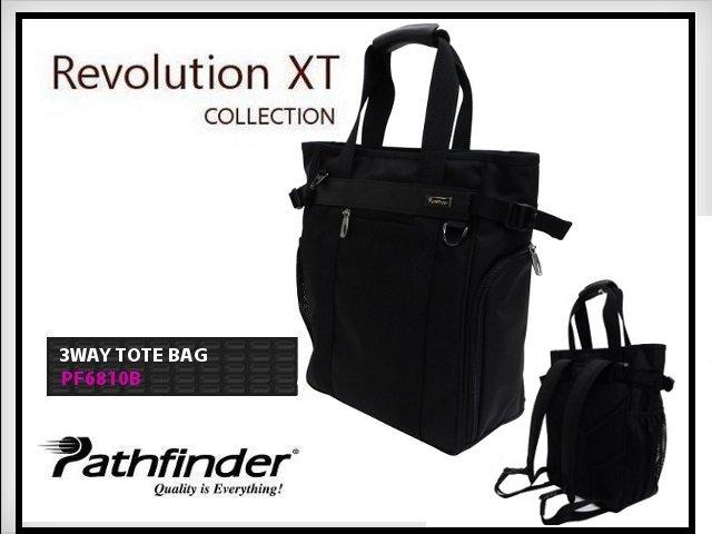 【正規品】Pathfinderパスファインダー Revolution XT レボリューションXT 3WAYトートバッグ PF6810【送料無料】【代引手数料無料】【あす楽】】【あす楽_土曜営業】【あす楽_日曜営業】