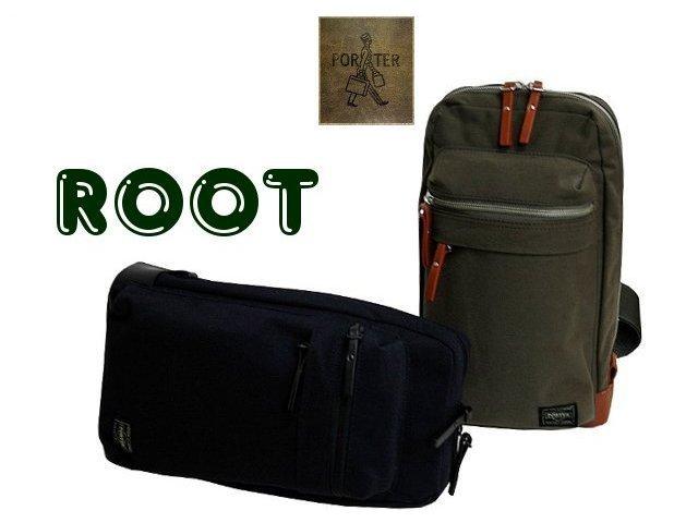 ea1aaec7eb Yoshida Kaban PORTER ROOT Porter routes leather shoulder bag 234-01262 Yoshida  bags