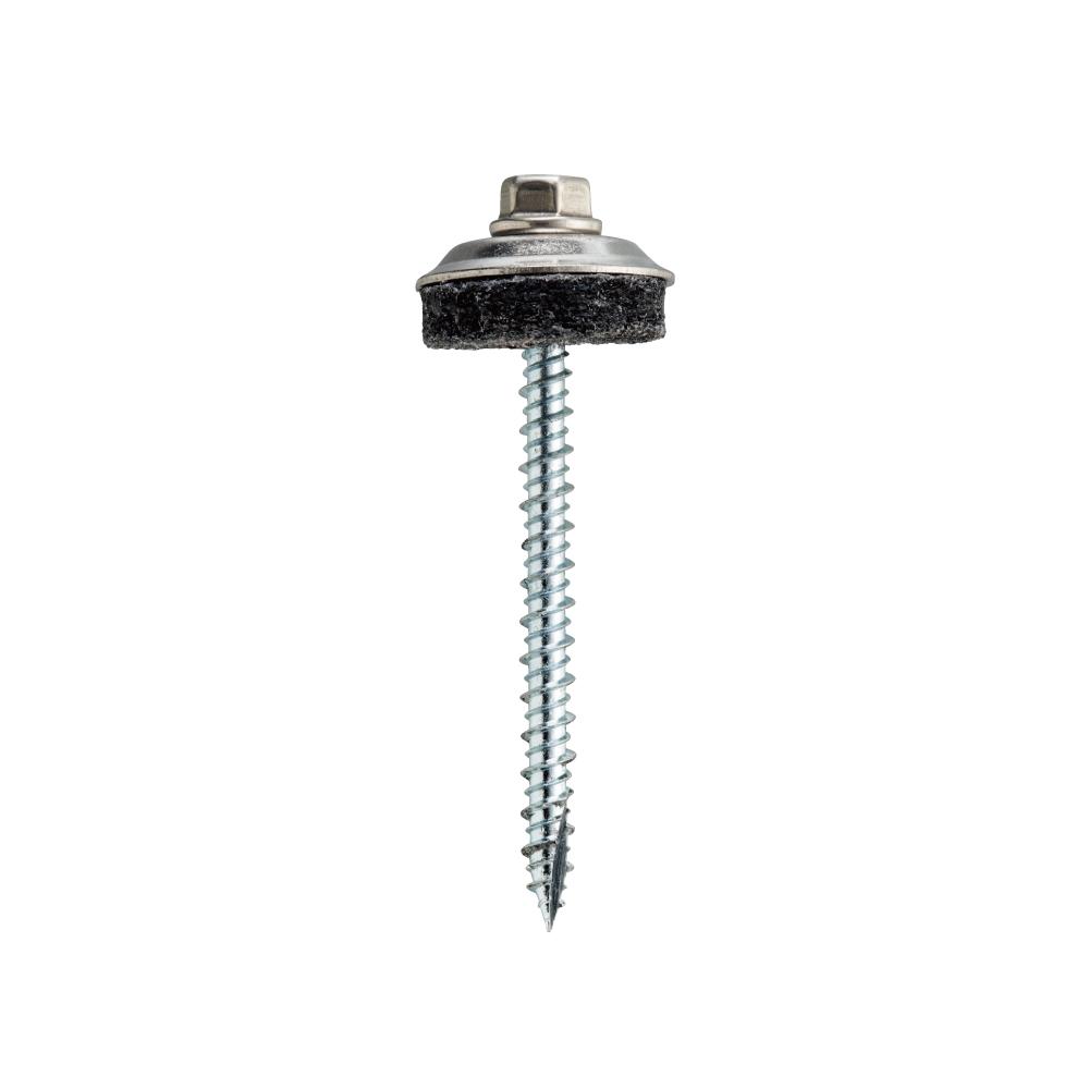 ダンバ ステンキャップ 木下地用 山座セット 座金外径25mm 5.3×105mm(100セット)