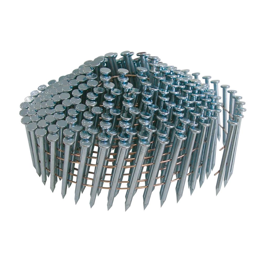 若井産業 ワイヤー連結 コンクリート釘 山形巻 2.5×65mm(300本×10巻)/ ワイヤー連結釘