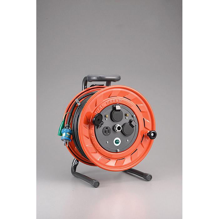 【ハタヤリミテッド】単相100V型コードリール 20m アース付 温度センサー付 【AP-201K】 ※沖縄・離島は別途送料が必要