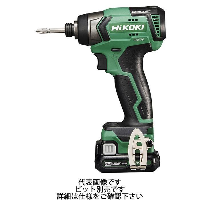 【HiKOKI(旧日立工機)】コードレスインパクトドライバ 10.8V 1.5Ah 最大トルク135N・m 【WH12DD(2ES)】