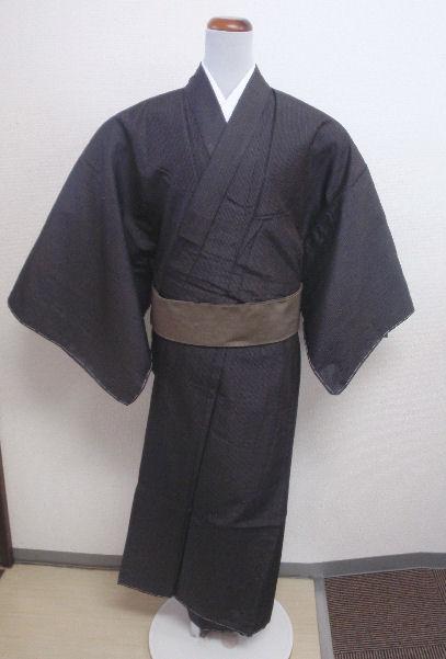 紳士着物・男性用着物正絹お仕立上がり着物«和達人»
