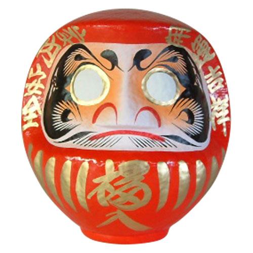 高崎だるま 縁起だるま 9号(高さ29cm)赤 群馬県指定ふるさと伝統工芸品 Takasaki daruma engi daruma Gunmaken traditional crafts