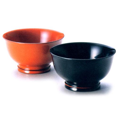 夫婦椀 玉渕 朱・黒 2客 (G7-00801)