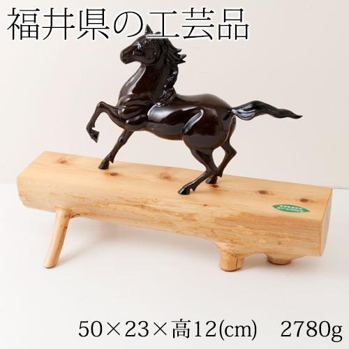 檜の幹の野趣に富んだ飾り台 木台(小) 福井県の工芸品 Cypress decoration table, Fukui craft