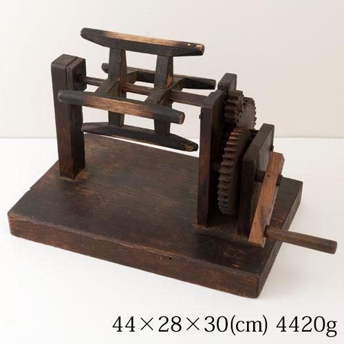 『2年保証』 木製糸巻き機 machine peg アンティーク置物・インテリア Wooden peg Wooden machine, Shop-Polori:a85a2112 --- construart30.dominiotemporario.com