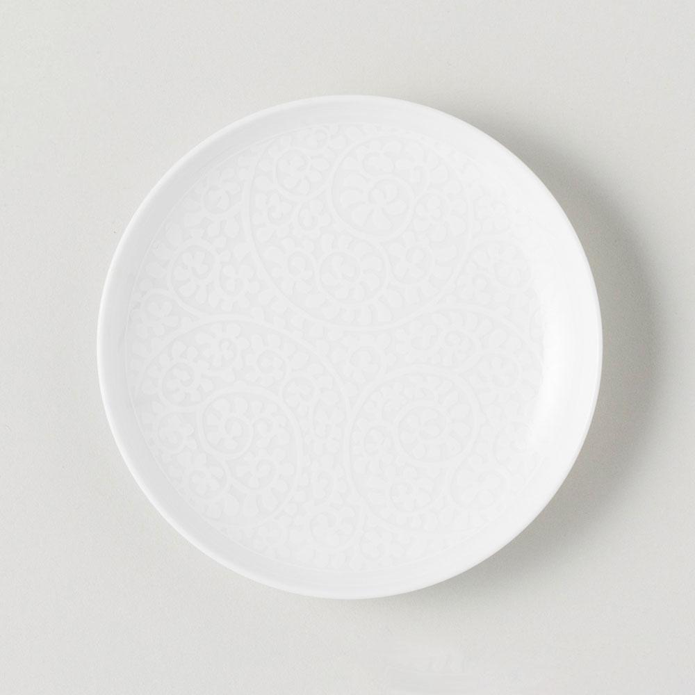 BARBAR 小皿 和文 白 蛸唐草文 今だけスーパーセール限定 WMS06 Hasamiyaki 磁器 cup ブランド品 長崎県の工芸品 波佐見焼 Buckwheat