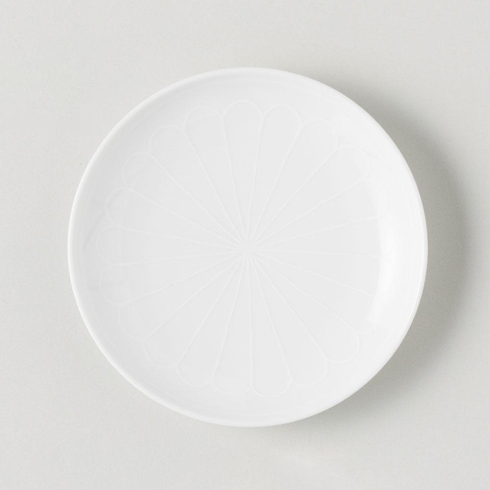 BARBAR 小皿 和文 白 菊弁文 WMS07 Buckwheat 波佐見焼 Hasamiyaki cup 定価 磁器 激安 長崎県の工芸品