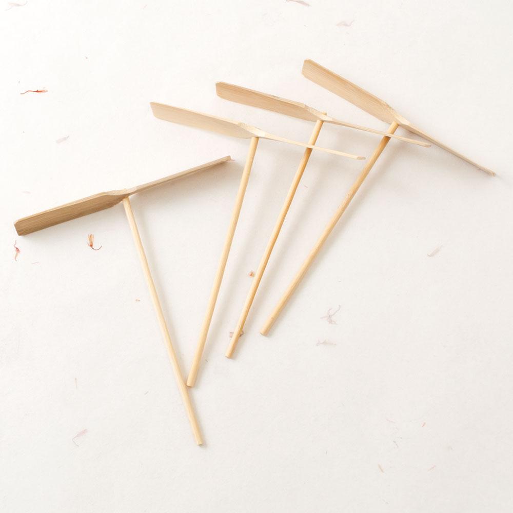 竹とんぼ 激安格安割引情報満載 無地 4本セット KS Japanese of propeller 全店販売中 bamboo toy