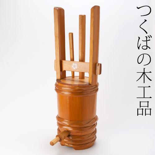 祝い樽 漆塗り つくばの木工品 Iwai-daru Urushi-nuri Tsukuba Mokkouhin