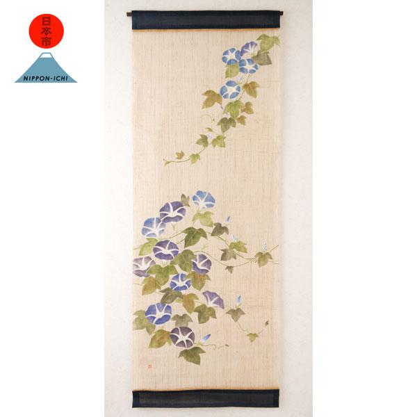 日本市 タペストリー 朝顔2014 Nippon-ichi tapestry asagao