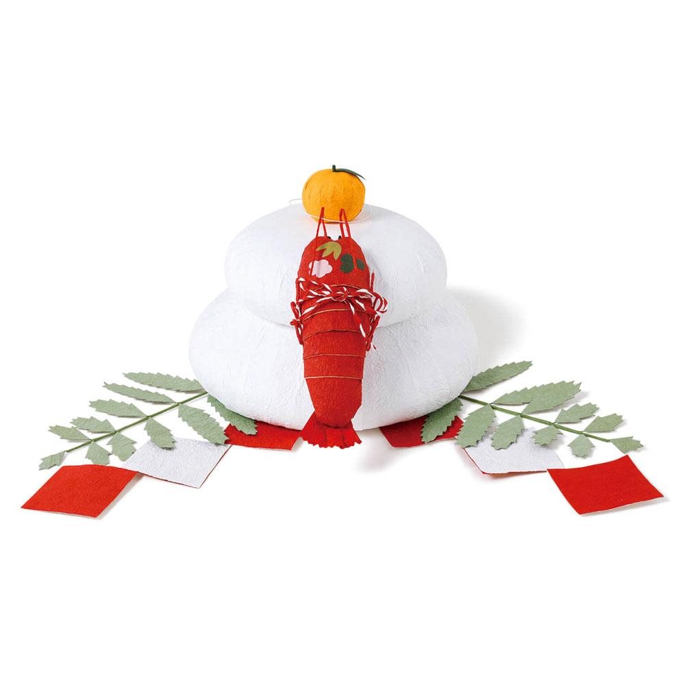 正月飾り めでたや 和紙お供えもち 大