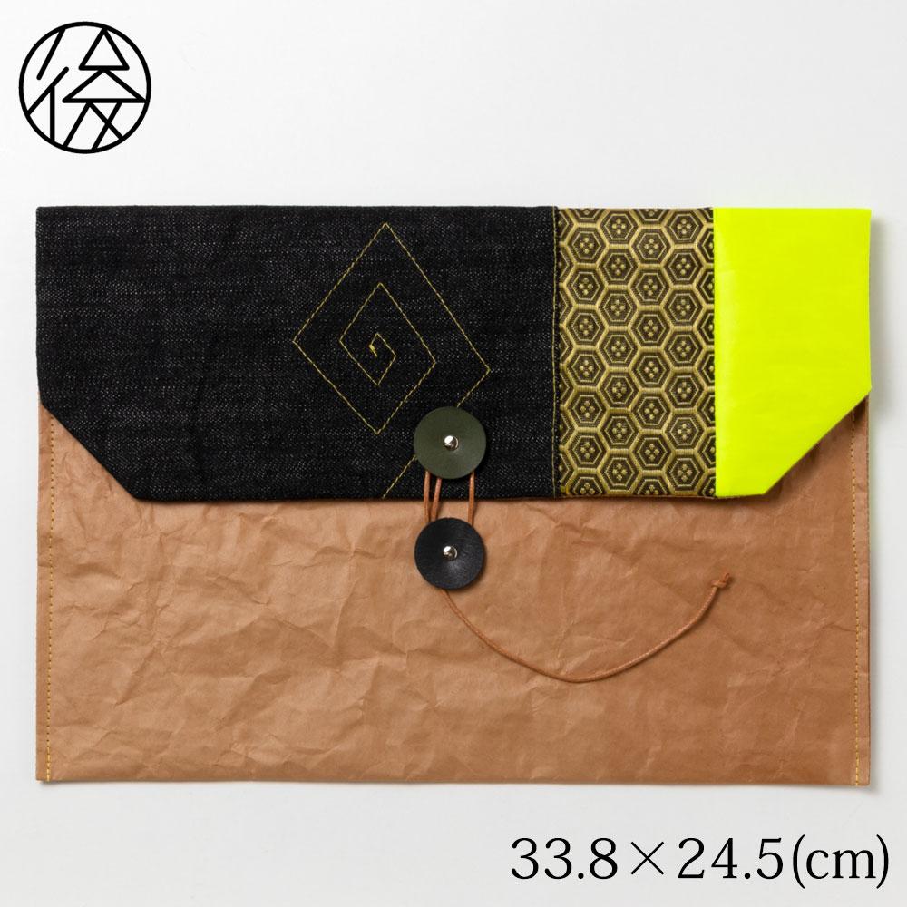 wakeiseijyaku it is handbag made by rice bag 004 envelope side type