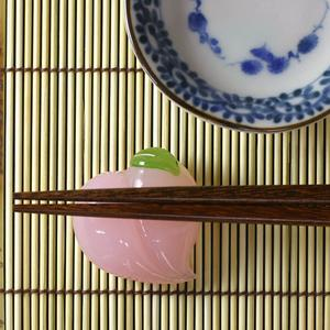 Haruka Hirota glass co., Ltd. glass Japanese-style confection chopstick peach blast