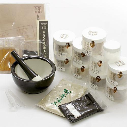 伝統的な香原料で自分だけの和の香り手作り練香(ねりこう)キットトラディショナルタイプ