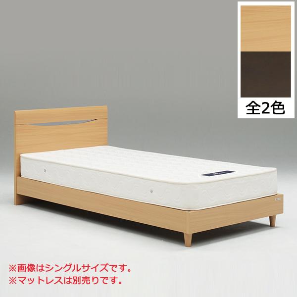 ベッド セミダブルベッド 木製ベッド シンプル ベッドフレーム セミダブルサイズ 脚付き 北欧 モダン おしゃれ 木製 送料無料