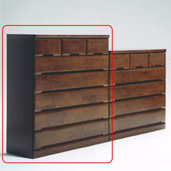 ハイチェスト チェスト タンス 幅100cm 引き出し 6段 木製 完成品 送料無料
