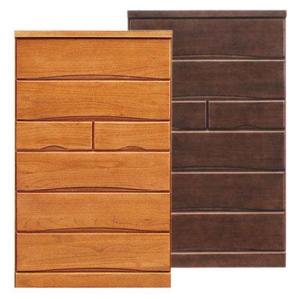 タンス チェスト ハイチェスト たんす 幅80cm 引き出し 6段 桐 木製 収納家具 家具 【 国産 完成品 】