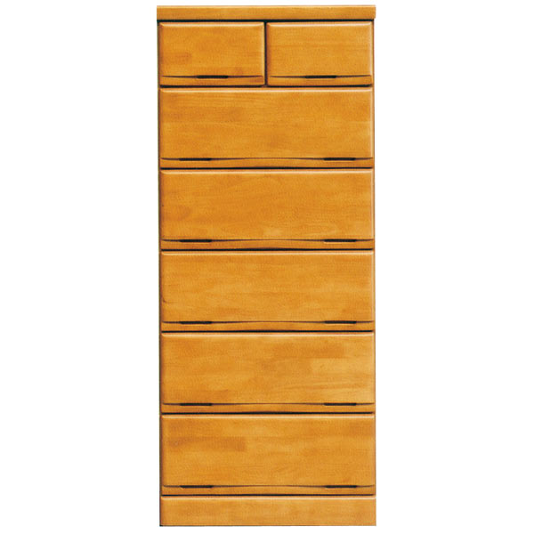 タンス チェスト ハイチェスト 完成品 おしゃれ 木製 衣類収納 収納家具 幅60cm 送料無料