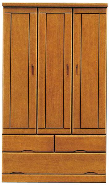 ワードローブ 服吊 クローゼット 木製 桐タンス シンプル 【 開梱設置無料 】 送料無料